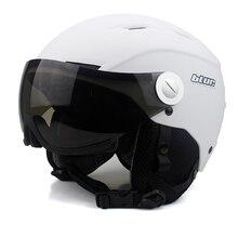 BLUR Ski Helm Für Erwachsene Snowboard männer Abdeckungen Kopfschutz Helm Skate Outdoor-sportarten Airsoft Downhill Helm