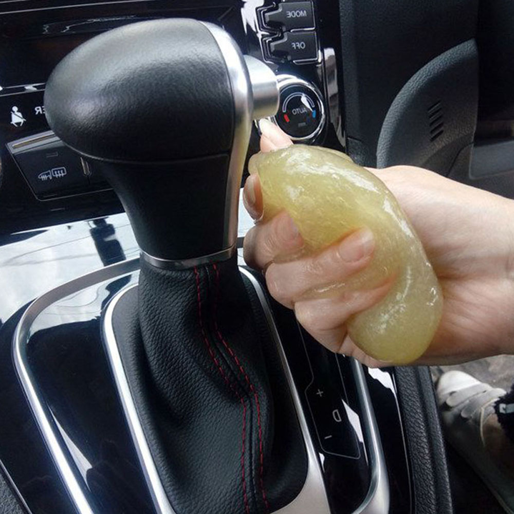 Magical Clean Glue Car Gum Gel Air Conditioner Outlet Vent Interior Dust Dirt Cleaner In Sponges Cloths Brushes From Automobiles Motorcycles On
