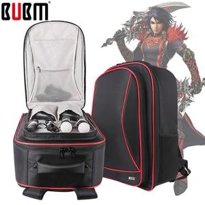 Image 3 - Bolsa BUBM para PS4 PSVR, consola de juegos, bolsa de viaje para playstation, mochila para VR, organizador de almacenamiento, bolsa para mando a distancia para Estuche de transporte de juegos