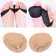1Pair Forefoot Insole Arch Support High Heel Shoes Insoles Flatfoot Orthotics Anti Slip Half Yard Cushion Pad for Foot Tool