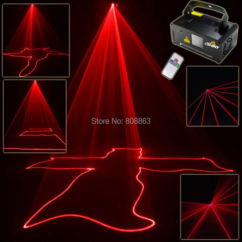 New Red 100mW Line Scan Beam Party Laser Light DJ Disco Party Xmas DMX512 Remote Digital Display DMX Stage Lighting Light b108 dmx512 digital display 24ch dmx address controller dc5v 24v each ch max 3a 8 groups rgb controller