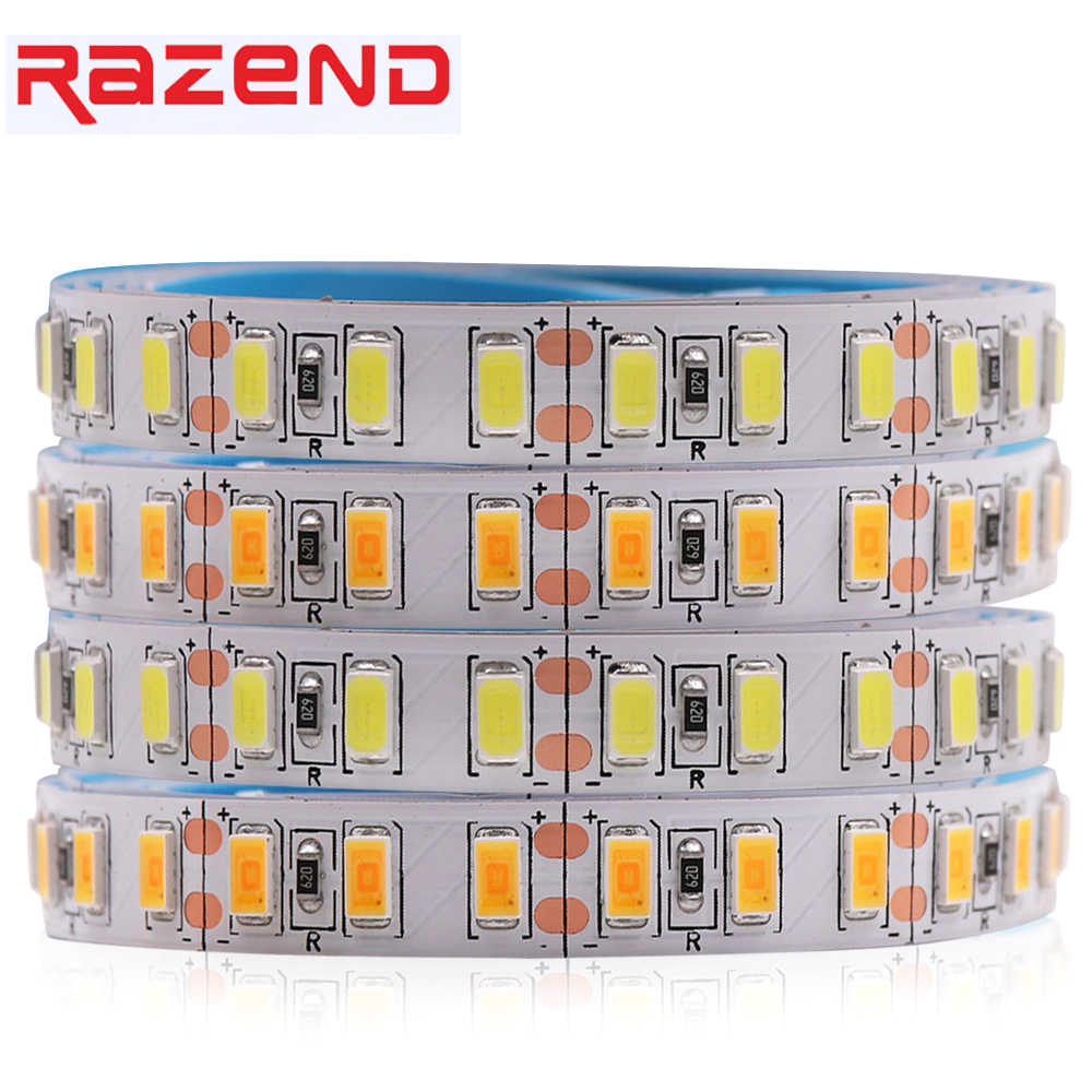 Super Terang LED Strip 5730 1M 5M Epistar Chip 120 LED/M Fleksibel Pita LED Light 5630 dingin Putih/Warm White/Putih Netral 12V