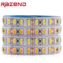超高輝度 5730 ledストリップ 1 メートル 5 メートルエピスターチップ 120leds/mフレキシブルledテープライト 5630 コールドホワイト/ウォームホワイト/昼白色 12v
