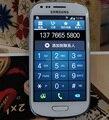 Разблокирована оригинальный Samsung Galaxy S3 мини I8190 мобильный телефон восстановленное Android двухъядерный Wifi GPS 5MP камера / бесплатная доставка