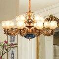 Роскошная гостиная освещение люстры ресторан современный led люстра старинные освещение люстры люстра стекла лампы декоративные люстры для...