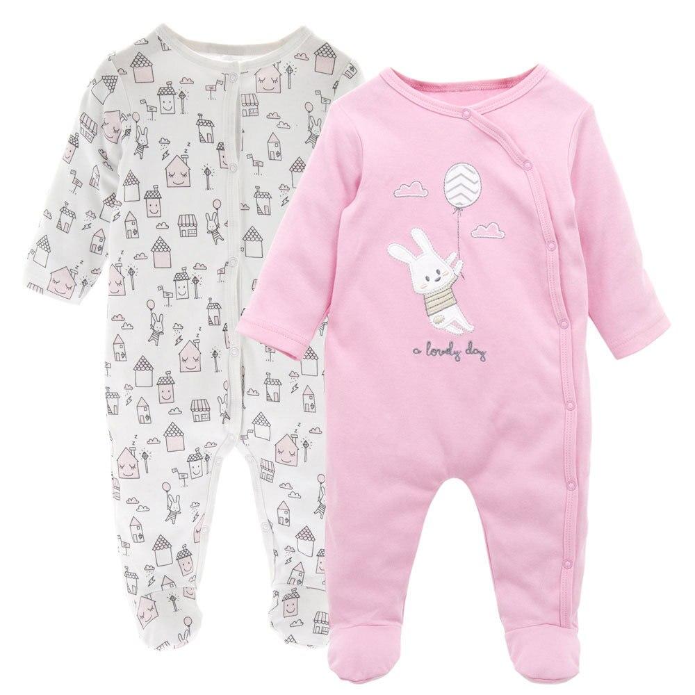 Enfant Bébé Garçons Filles Épais Imprimé à Capuche ange Combinaison Outfit Clothes Cute