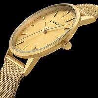 Ultra Slim Gold Watch Men Watches Top Brand Luxury Famous Wristwatch Male Clock Golden Quartz Wrist