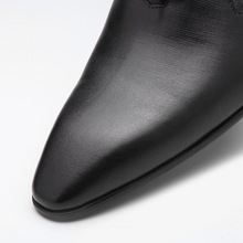 QYFCIOUFU New Arrival British Style Pointed Toe Men Genuine Leather Shoes Lace-up Men Dress Shoes Handmade Business Formal Shoes
