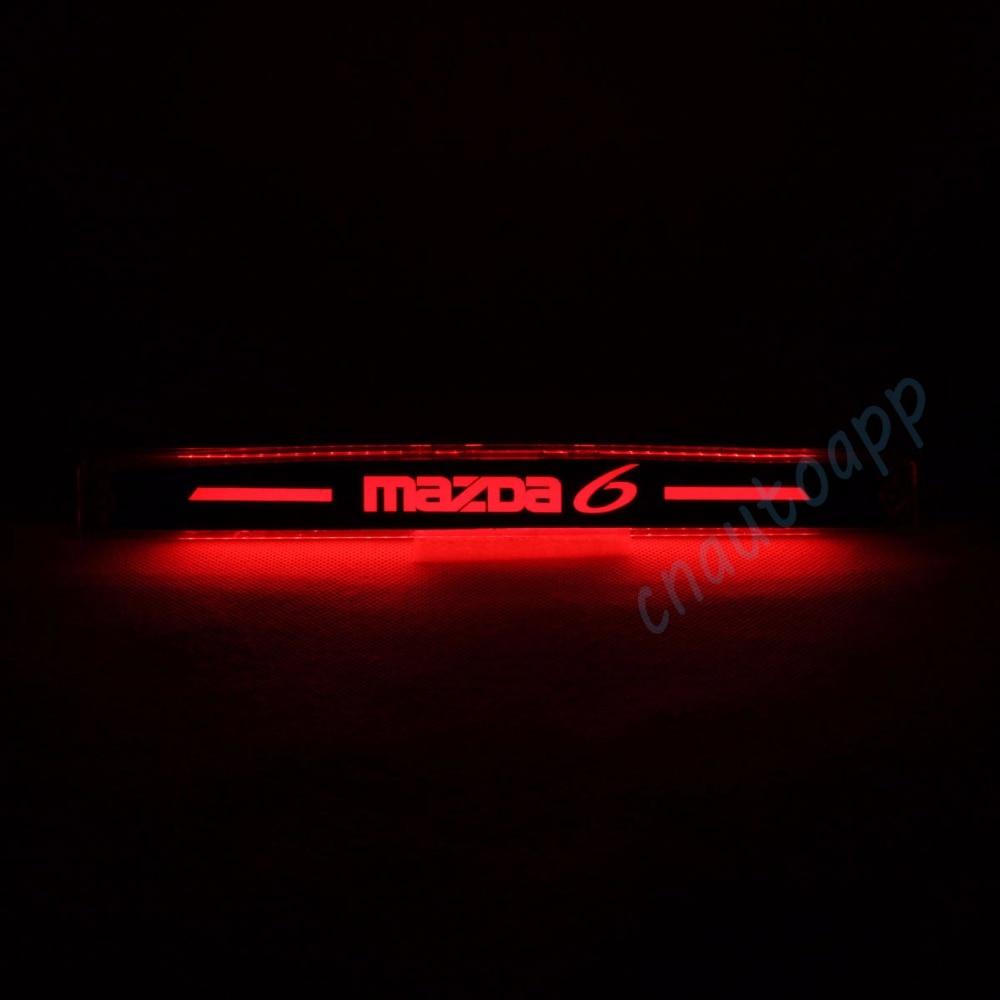цена на Car Additional Brake Light LED Braking Light Third Brake Light Brake Bar Driving Lamp For Mazda 6