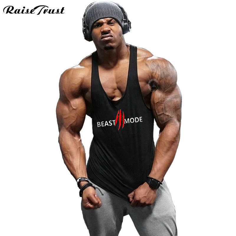 cotton chaleco Bodybuilding clothing men Fitness chaleco hombre Ropa vest camiseta culturismo wholesale musculation   Tank     Tops