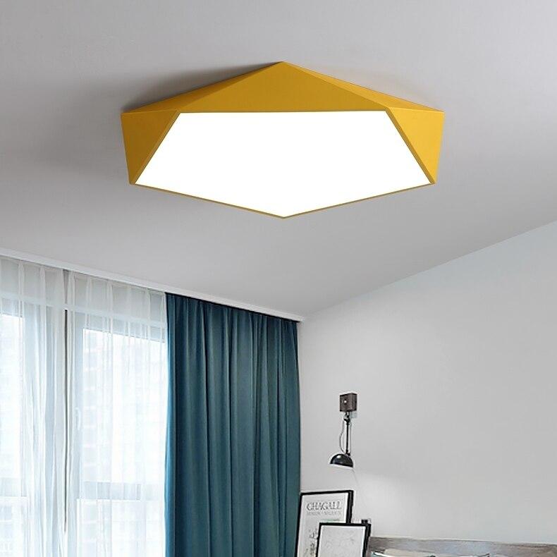 Image 3 - Ceiling Lights Modern Lamp Nordic Simple Bedroom Living Room Lighting Lixtures for Childrens Room Lighting Kitchen StudyCeiling Lights   -
