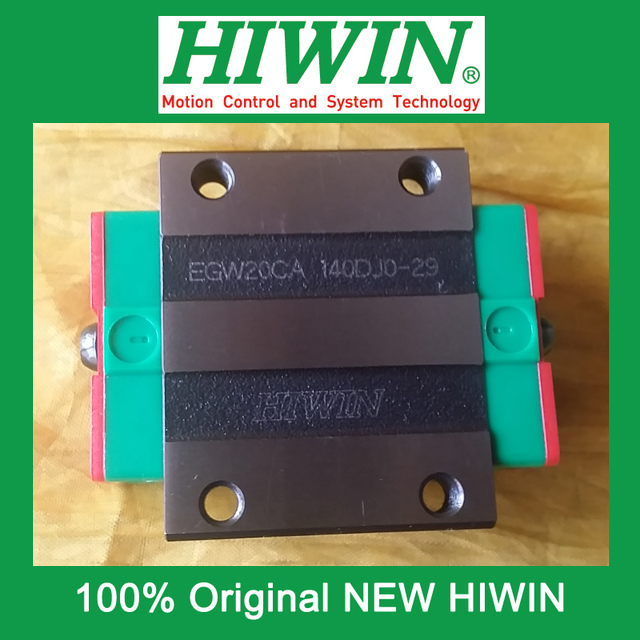 все цены на 1pcs HIWIN EGW20 EGW20CA EG20 New original linear guide block Original HIWIN Linear Guide CNC Parts Stock Good онлайн