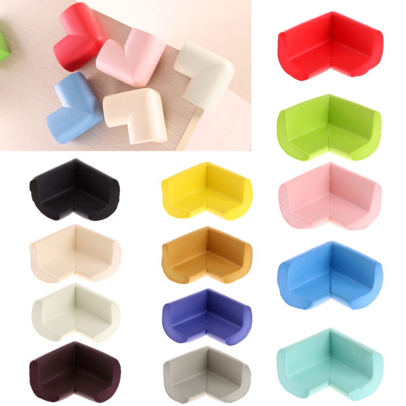 10 Pcs Baby Safety Table Desk Edge Corner Cushion Guard Soft Bumper Protector New