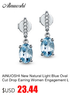 HTB16QNFEbuWBuNjSszgq6z8jVXag AINUOSHI Brand Sparkling Square Stud Earring Asscher Cut Sona Diamond Pure 925 Sterling Silver Shining Earring Lady Jewelry Gift
