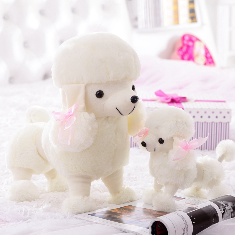 New Arrival Hot Selling Lovely Poodle Plush Soft Toys Cute Dog Baby