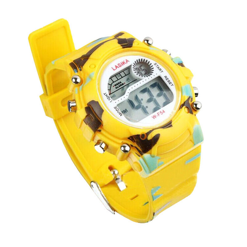 Dhuratë Irisshine me cilësi të lartë Fëmijët shikojnë fëmijë Digjitale LED Alarm Analog Quartz Alarm Date Sport Dore Orë për Vajza dhe djem # 2307