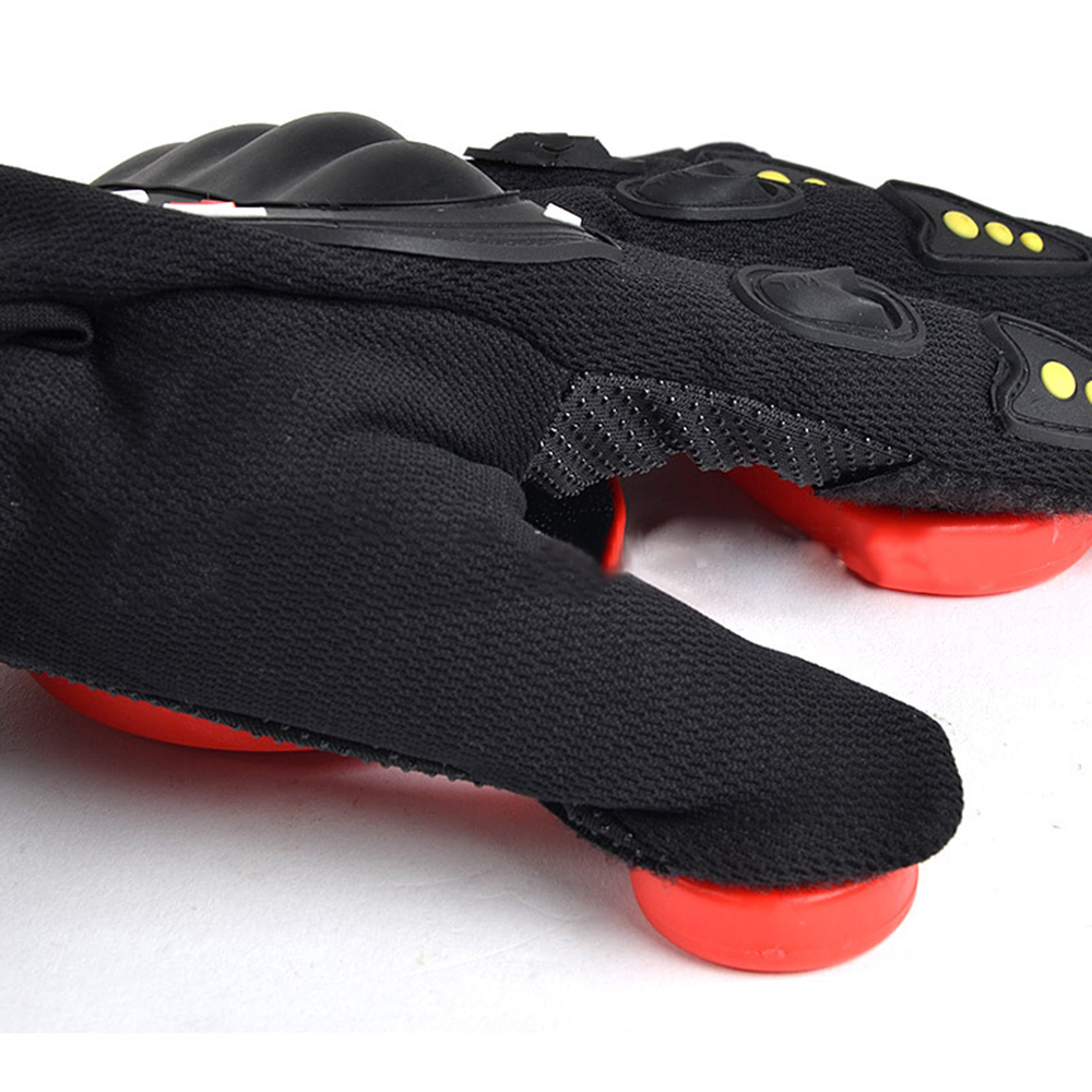 Longboard Gloves Black Red 3 POM Skateboard Wear Resisting Racing Brakes Protect Hand Sporting Goods Protective Gear Non Slip