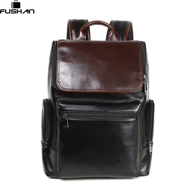 Aliexpress.com : Buy Oily skin mens leather backpacks designers ...