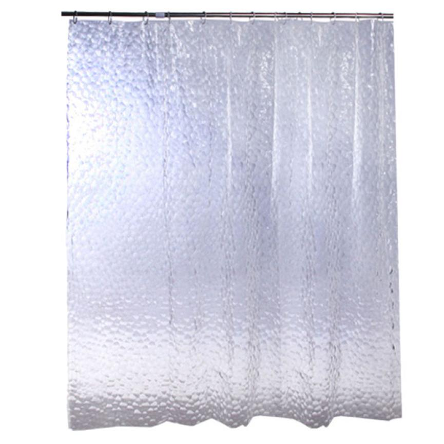 Aliexpress Buy New Qualified Bath Curtain Thicken 3D Effect Water Proof Cube Shower Levert Dropship Dig634 From Reliable Curtains
