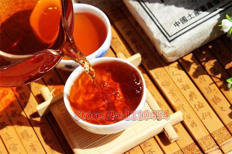 25 years old Puer tea health care pu er tea pu erh compressed pu'er brick Puerh Yunnan ancient trees fragrant old brick tea