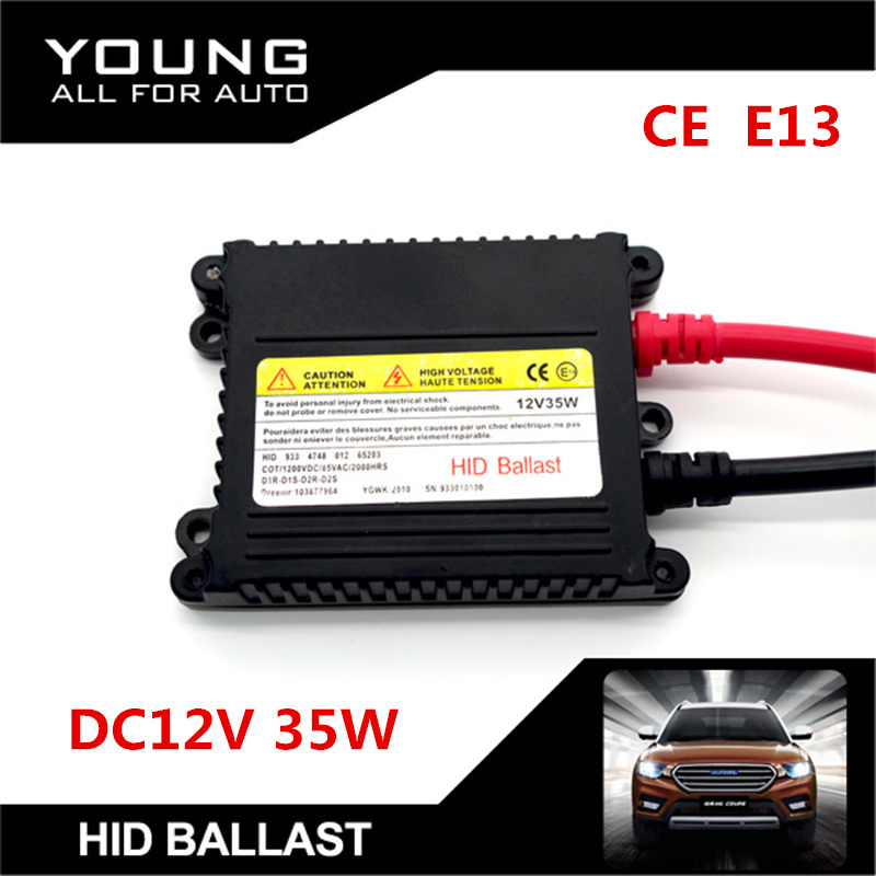 цены  1Pcs Slim DC12V 35W Xenon HID Replacement Electronic Digital Conversion Ballast Kit For H1 H4 H7 H11 9005 9006 D1R D1S D2R D2S
