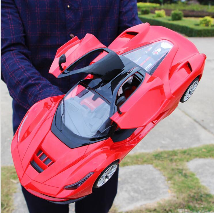 30 cm adultes enfants jouets 1:16 4 canaux 2.4G haute vitesse télécommande RC hummer escalade voiture de fond - 4