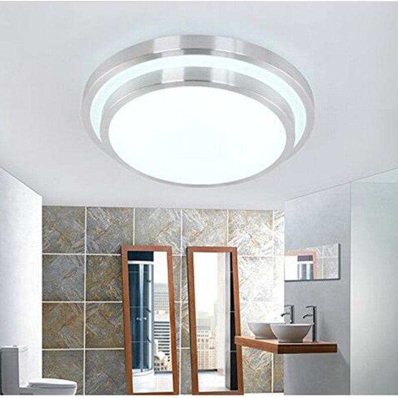 GLW Ceiling light 12W LED lamp Acryli Aluminum frame edge indoor lighting Bedroom living kitchen light Minimalism lampara techo lan mu led ceiling lamp octopus light