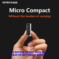 STTWUNAKE Mini 8GB Voice Recorder Alloy HiFi Lossless MP3 Audio Player Flash Drive Multifunctional Rechargeable Audio
