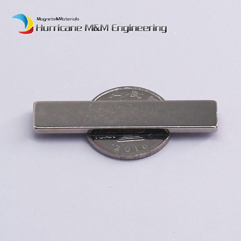 1 Pack NdFeB Block 50x10x2.5 mm Tool Holding Magnet 1.97 Bar Strong Neodymium Permanent Magnets Rare Earth Lifting Magnets N42 ndfeb magnet block 40x25x10 mm super strong magnet neodymium permanent magnets rare earth magnets grade n42 nicuni plated