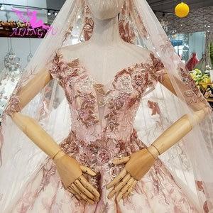 Image 2 - AIJINGYU Petite suknia ślubna suknie Chile Sexy panna młoda koreański wielkiej brytanii korzystnym cenowo sklepie sklepach kupić suknia turcja suknie ślubne