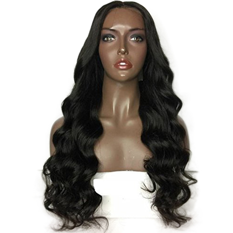 Loose Wave 250 Density 13x6 Lace Front Human Hair Wigs For Black Women Baby Hair Pre Plucked Bleach Knots Middle Wigs EseeWigs