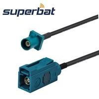Fakra Jack Straight To Fakra Plug Straight Automotive Pigtail RG174 Z 500cm
