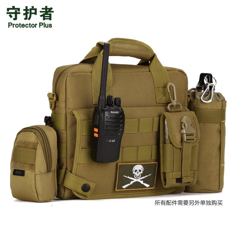 Sac de loisirs en plein air sac à bandoulière étanche hommes tactique 10 pouces sac d'ordinateur sac à main iPAD45 sac de messager