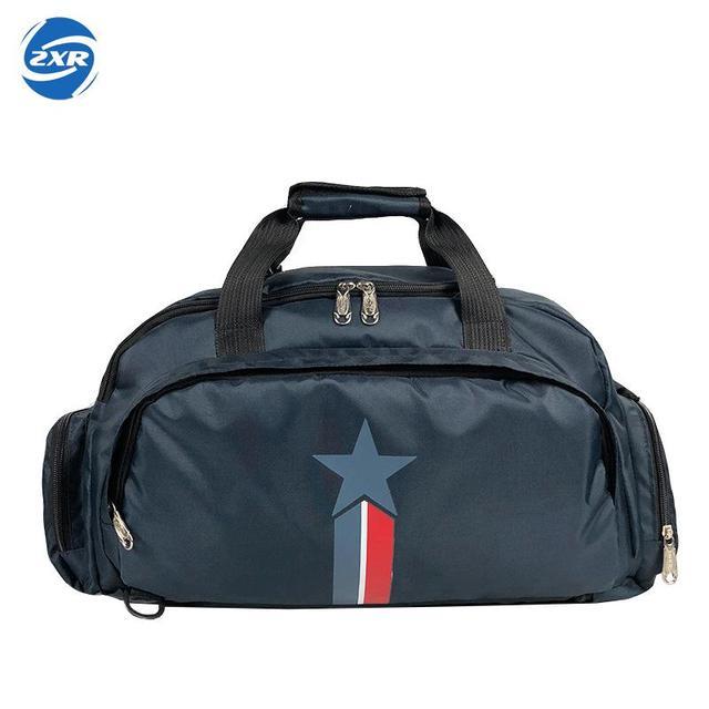 4fc21b4c03 High Quality Men Women s Gym Bag Female Fitness Yoga Handbag Round Bucket  Training Bags Traveling Shoulder Small Duffel Bag