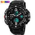 SKMEI 1192 Top Fashion Men Sports Watches Chronograph 50M Waterproof Mens Outdoor Military LED Digital Dual Display Wristwatches