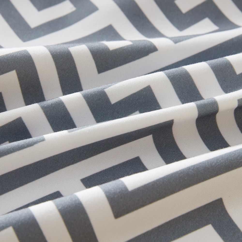 Topfinel דקורטיבי זול כרית מכסה גיאומטרי כותנה פשתן לזרוק כריות מקרי עבור בית ספת ספת מיטת אפור צבע 45x45cm