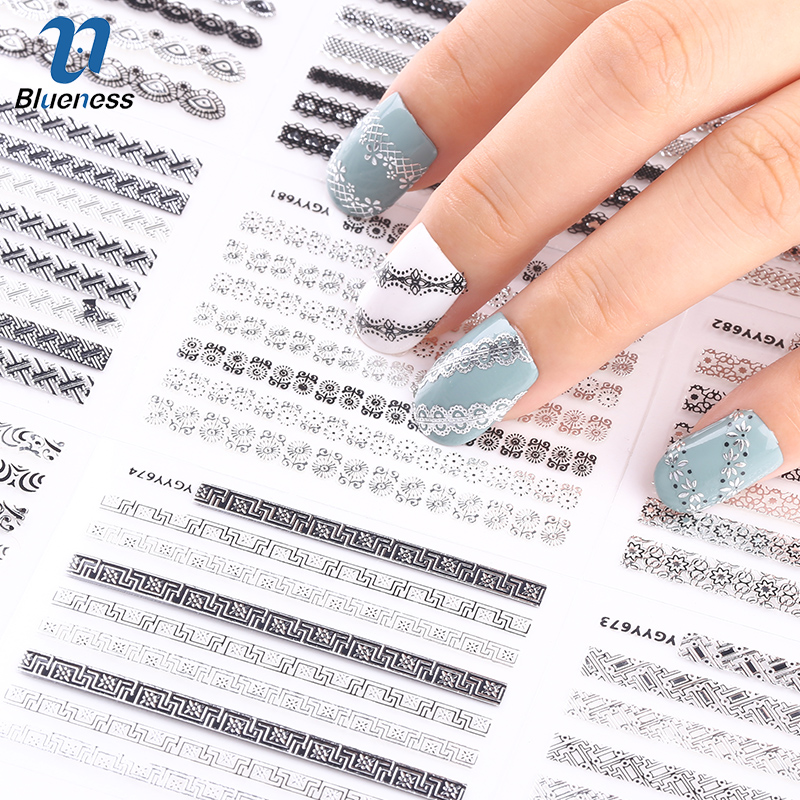 24pcs/lot 3d Nail Stickers Decal Beauty Summer Styles Design Nail Art Charms Manicure Bronzing Vintage Decals Decorations Tools 24pcs lot 3d nail stickers beauty summer styles design nail art charms manicure bronzing vintage decals decorations tools jh151