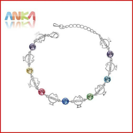 Free shipping mix wholesale jewelry perfect package make crystal bracelet #81852