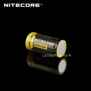 Image 2 - Nitecore batterie Li ion, Rechargeable, 650mAh, 3.7V, wh, NL166, RCR123A, produit Original