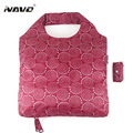 NAVO Brand folding shoping bag foldable reusable grocery bags polyester shopping bags fashion designer casual tote bag newarrive