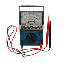 цены High quality AC DC Electric Volt Ammeter Multimeter Analog MF47A Multitester ampere volt-ohm meter Capacity