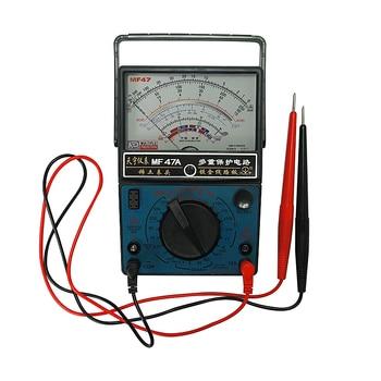 High quality AC DC Electric Volt Ammeter Multimeter Analog MF47A Multitester ampere volt-ohm meter Capacity цена 2017