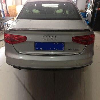A4 углеродного волокна задний багажник спойлер крыло для Audi A4 B9 седан 2013-2015 CA Стиль >> ILLUSIONS