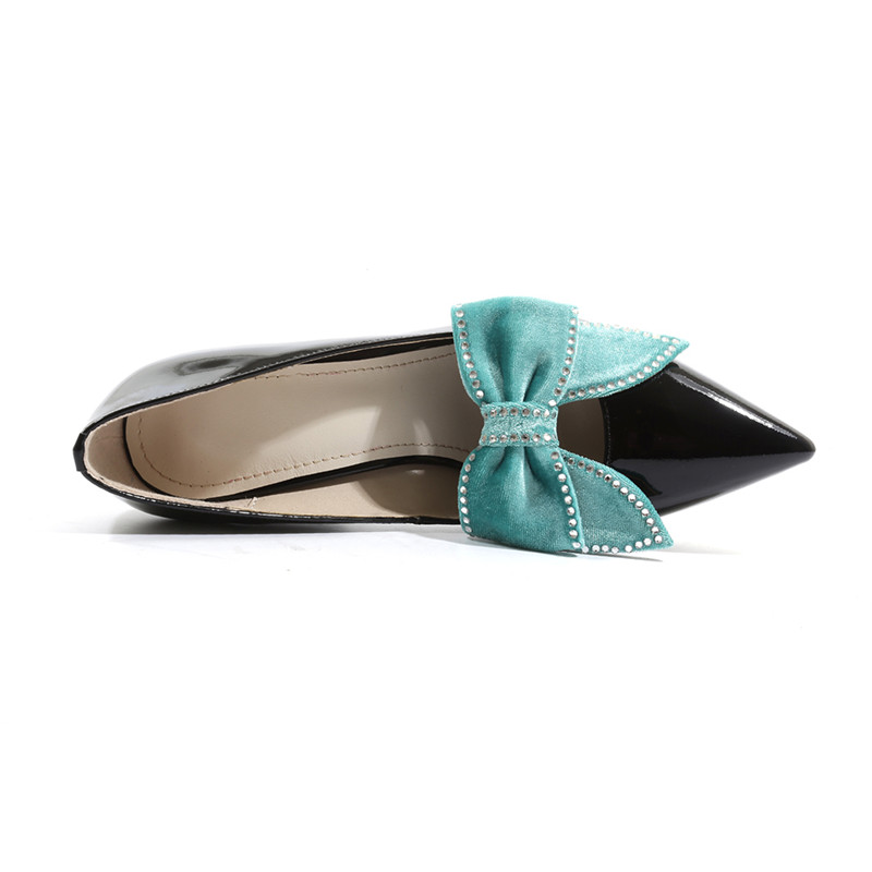 ASUMER 2019 offre spéciale nouvelles chaussures femme bout pointu pompes peu profondes femmes chaussures en cuir véritable classique bal de mariage chaussures femmes-in Escarpins femme from Chaussures    3