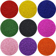 U pick color Lot of 2500pcs Economical 11/0 Rocaille 1.8mm Small Round Czech Glass Seed Beads DIY jewelry making(China)