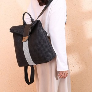 Image 4 - 学校のバックパック女性のための十代カレッジティーンエイジャーの女の子ブランド Pu レザー Bagpack 高級バッグ女性バックパック