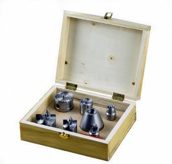 Woodworking bubut Bidal 7 pcs Set kayu kotak M25 (1 inch 8 gigi)/Woodworking alat M33x3.5.