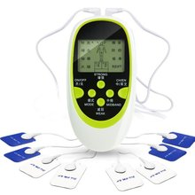 Цифровой меридиан инструмент для лечения дома многофункциональный двойной выход шейный массажер Низкочастотный пульс