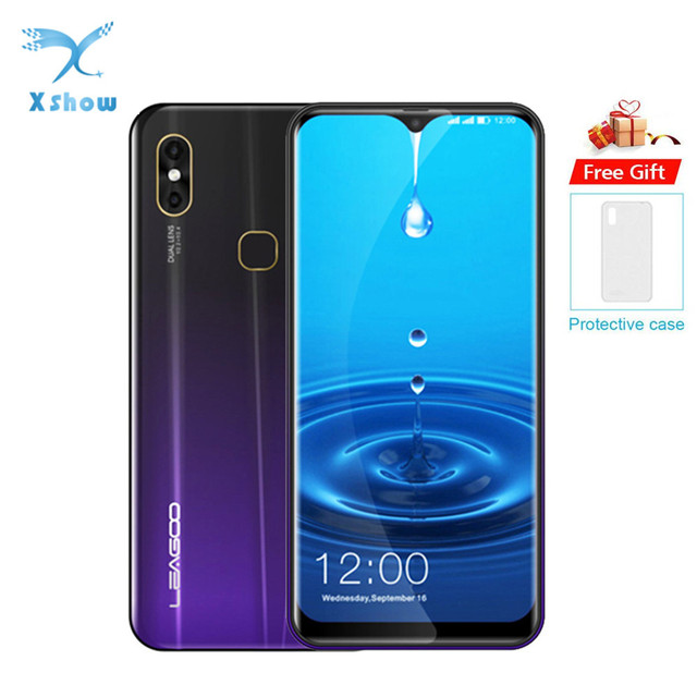 "LEAGOO M13 Android 9.0 19:9 6.1"" Waterdrop Smartphone 4GB RAM 32GB ROM MT6761 Quad Core Fingerprint Face ID 4G Mobile Phone"