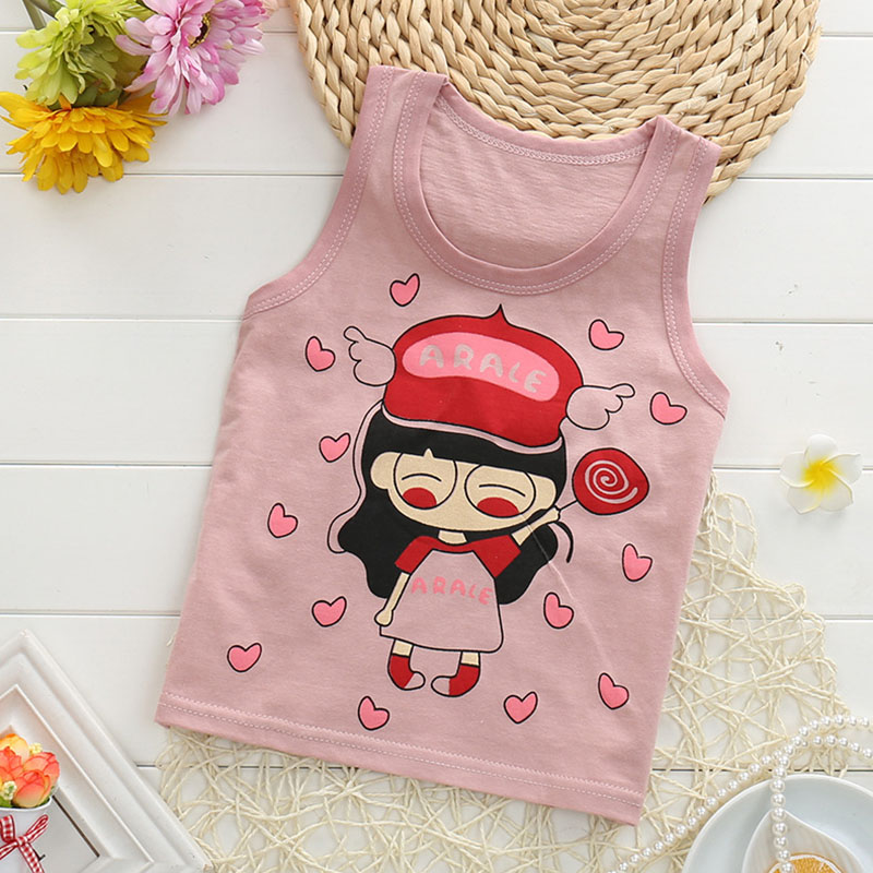 New-summer-baby-vest-shirt-for-boy-and-girl-100-cotton-kids-clothing-tops-cartoon-sleeveless-children-tops-retail-1